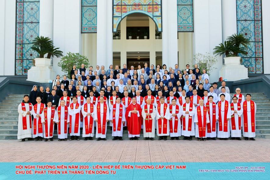Hội nghị thường niên Liên hiệp Bề trên Thượng cấp Việt Nam năm 2020